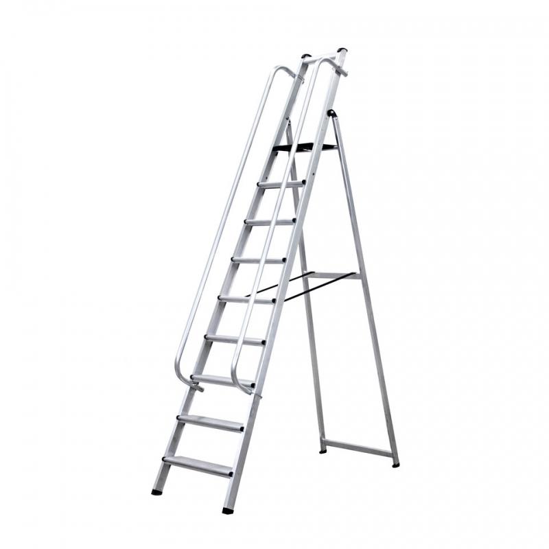 Escalera de tijera 9 pelda os for Escaleras 9 peldanos